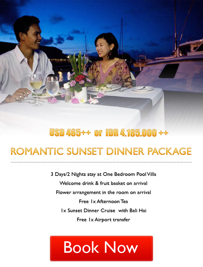 Romantic Sunset Dinner Package