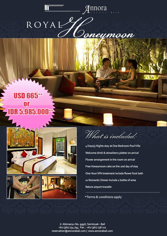 Royal Honeymoon Package